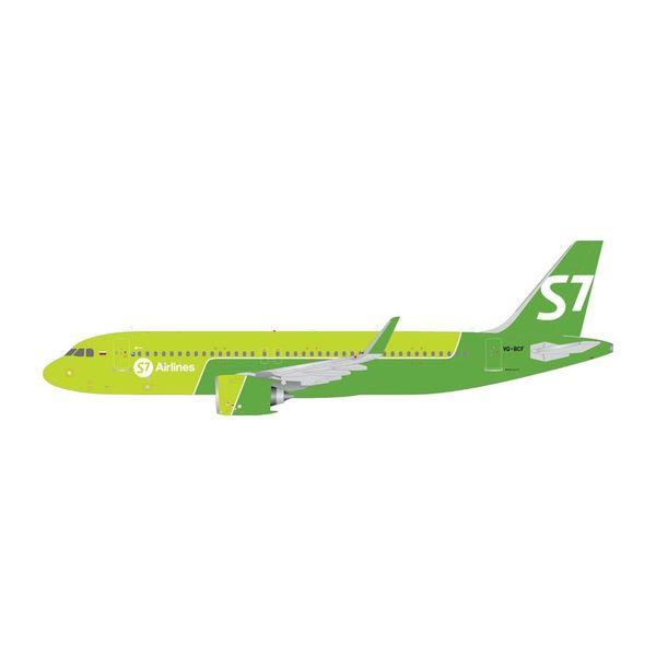 Gemini Jets A320neo S7/Sibir VQ-BCF 1:400