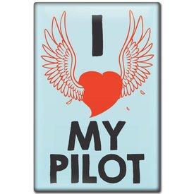 Magnet I love my Pilot