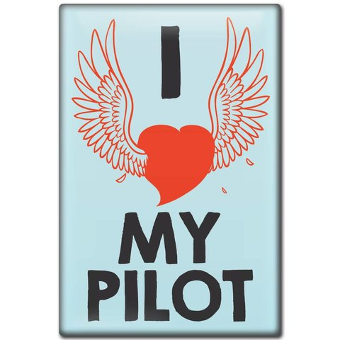 Magnet I love my Pilot