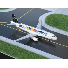 Gemini Jets A320 Austrian Airlines Star Alliance (original) 1:400