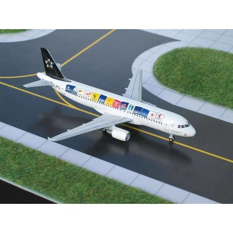 A320 Austrain Airlines Star Alliance (original) 1:400