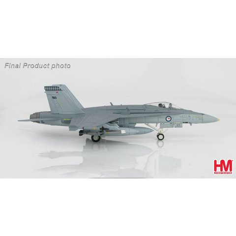 FA18A RAAF 75 Squadron 2003 1:72 with stand