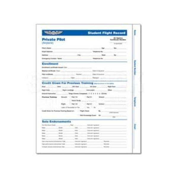 ASA - Aviation Supplies & Academics Student Flight Record