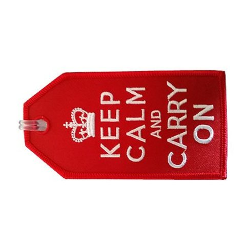Luggage Tag Keep Calm And Carry On