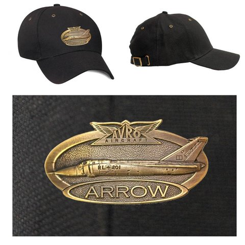 CAP BRASS ARROW BLACK