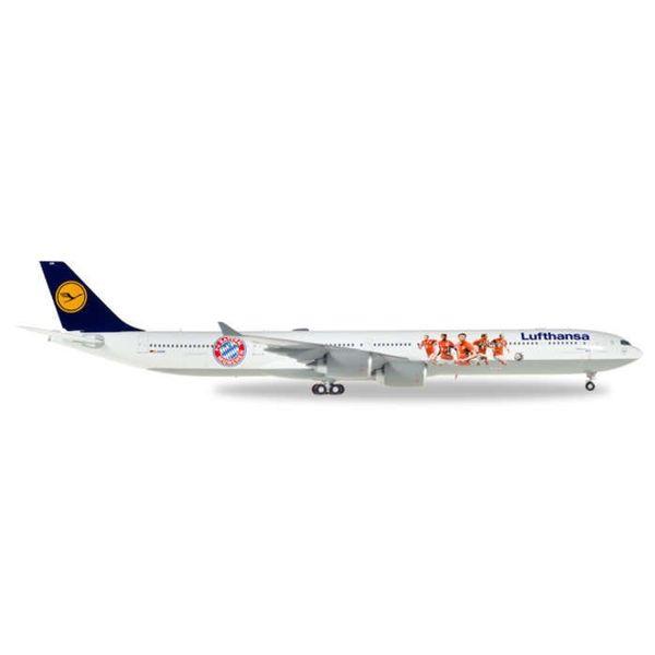 Herpa A340-600 Lufthansa FC Bayern 1:200