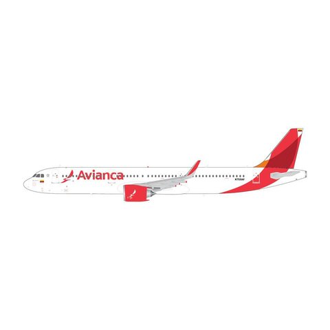 A321neo Avianca 2013 livery N759AV with Stand 1:200