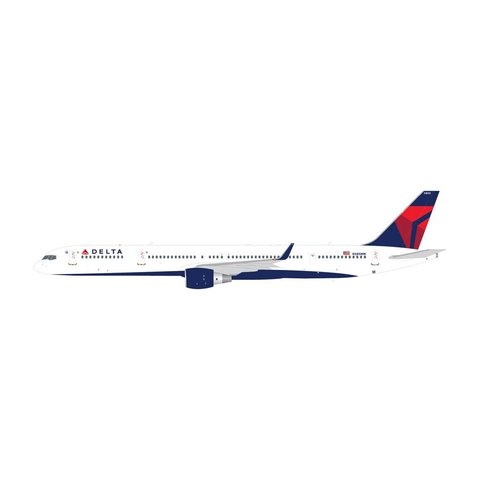 B757-300W Delta 2007 livery N585NW 1:200 with stand (2nd release)