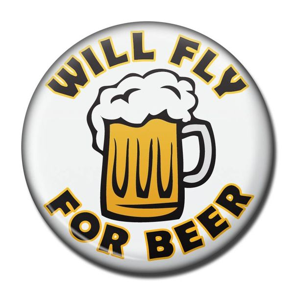 Magnet Will Fly for Beer