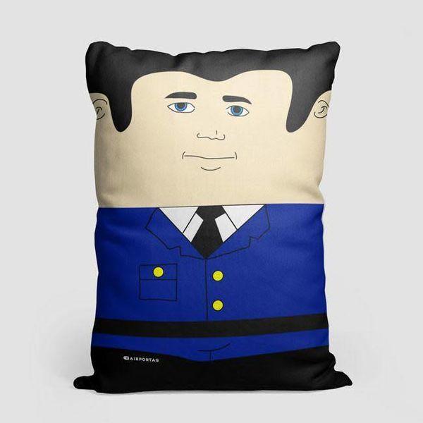Airportag Autopilot Throw Pillow