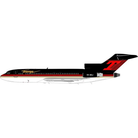 B727-100 Trump VP-BDJ 1:200 with stand