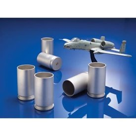 A-10 Warthog 30mm Shell Shot Glass