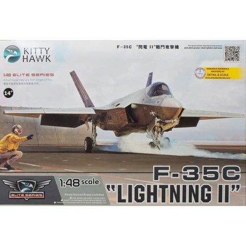 KITTY F35C LIGHTNING II US NAVY 1:48