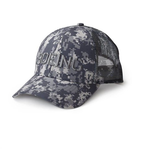 Digital Camo Snapback Trucker Hat