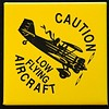 Magnet Low Flying Aircraft