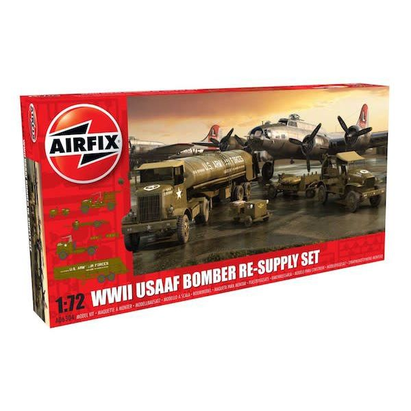 Airfix USAAF BOMBER RESUPPLY SET 1:72 Kit