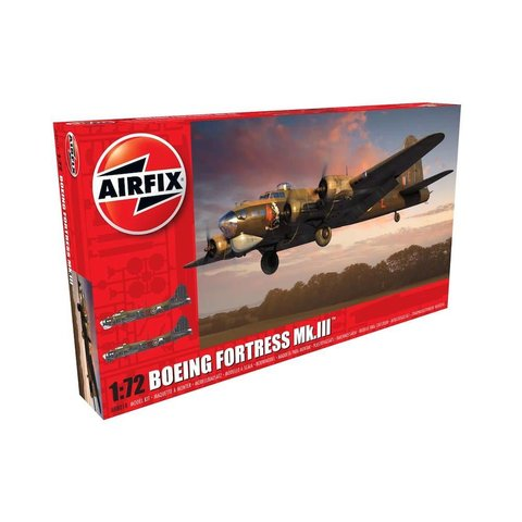 Boeing Fortress MK.III RAF 1:72 Kit
