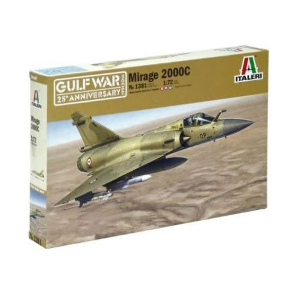 ITALE Mirage 2000C Gulf War 25th Anniversary 1:72