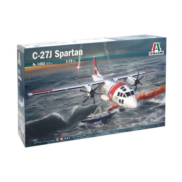 ITALE C27J Spartan USCG,US Army,Italian AF 1:72
