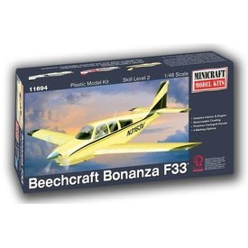 Minicraft Model Kits Beechcraft Bonanza F33 1:48 Scale Kit