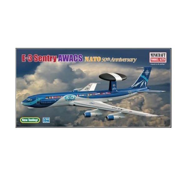 E3C AWACS NATO SPEC 1:144 KIT