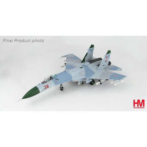 Su27 Flanker B [Early] RED 36 Russian AF Barents Sea 1987 1:72