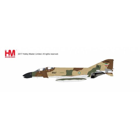 F4D Phantom II 71TFS TFB7 Iranian Air Force IRIAF Shiraz AB, Sept 1980 1:72