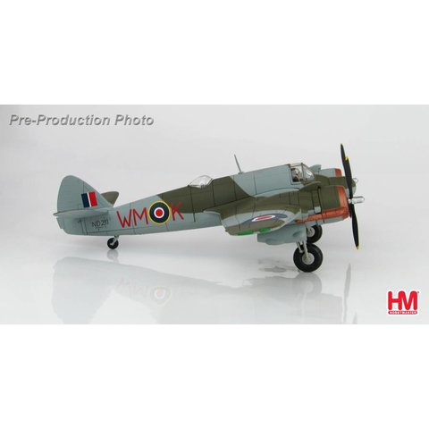 Beaufighter Mk VIF 68 Squadron RAF WM-K Fairwood Common May 1944 1:72 with stand