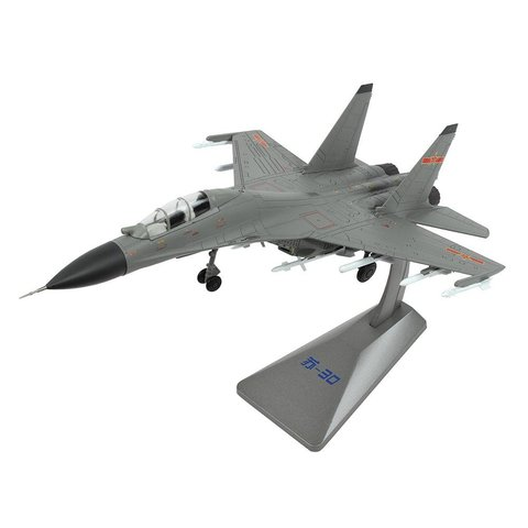 SU30MKK Flanker Chinese Air Force Grey 1:72 with stand
