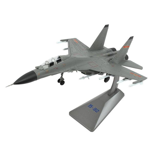Air Force 1 Model Co. SU30MKK Flanker Chinese Air Force Grey 1:72 w/stand