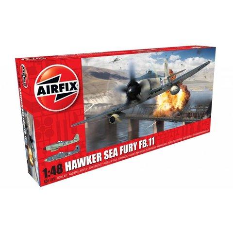 Sea Fury FB.II 1:48 Plastic Kit *Discontinued*Used