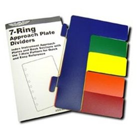 ASA - Aviation Supplies & Academics Chart Divider Colour ASA