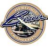 """DHC2 Beaver Heritage Round Sticker 3 1/2"""""""