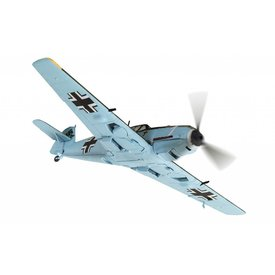 Corgi BF109E4 1./JG1 Wilhelm Balthasar WHITE 1France 1940 1:72 with stand
