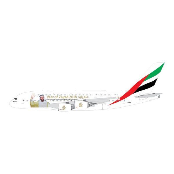 Gemini Jets A380-800 Emirates Sheik Zayed A6-EUZ 1:400