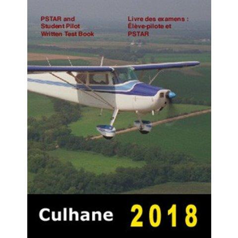 Culhane PSTAR & Student Pilot Written Test Book 2018
