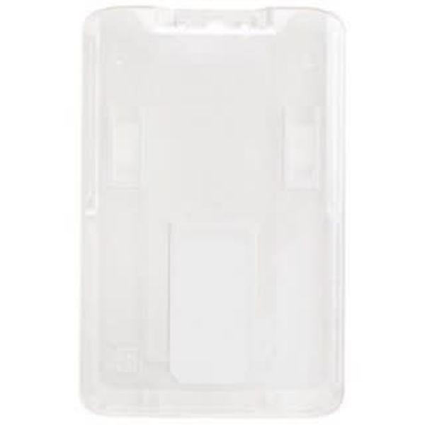 Badge Holder Vertical Rigid Plastic