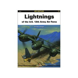 Kagero Books Lightnings of the 12th Army Air Force: KAB #11 SC++SALE++