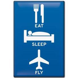 Magnet Eat, Sleep, Fly