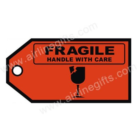 Luggage Tag Fragile
