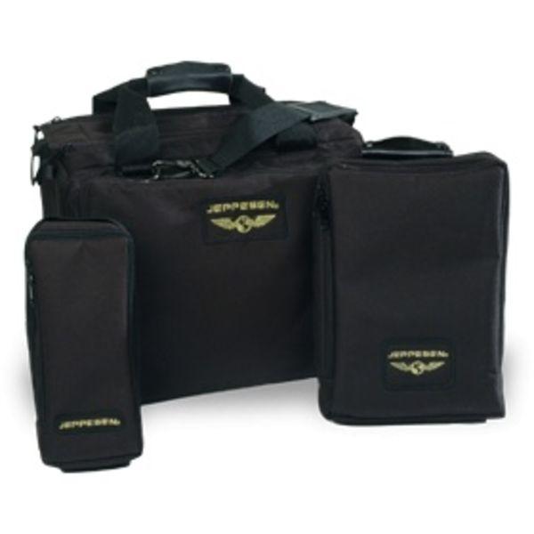 Jeppesen Aviator Black Flight Bag