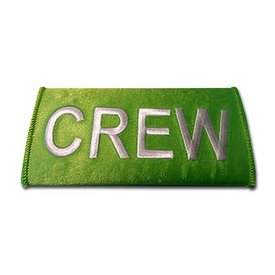 Luggage Handle Wrap Crew High Viz Green