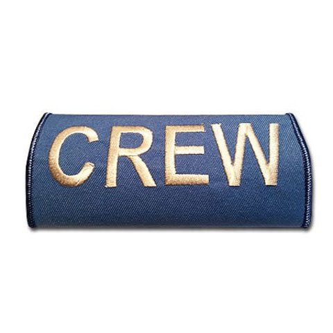 Luggage Handle Wrap Crew KLM Blue