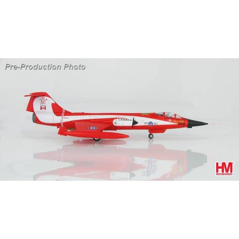 CF104 Starfighter 421 Red Indian Squadron RCAF Coke Bottle livery 104868 1:72