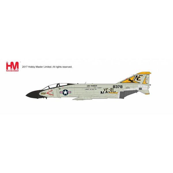 Hobby Master F4J Phantom II VF21 Freelancers USS Ranger NE-200 1974 1:72