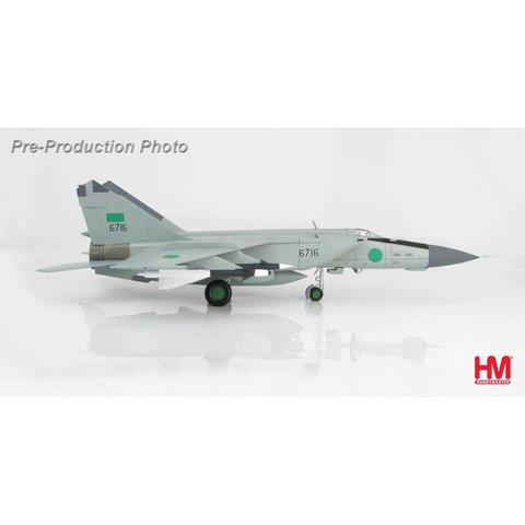 MIG25PD Foxbat 1025 Aerial Squadron Libyan Air Force 6716 Benin 1981 1:72