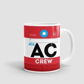 Airportag Mug Air Canada Crew