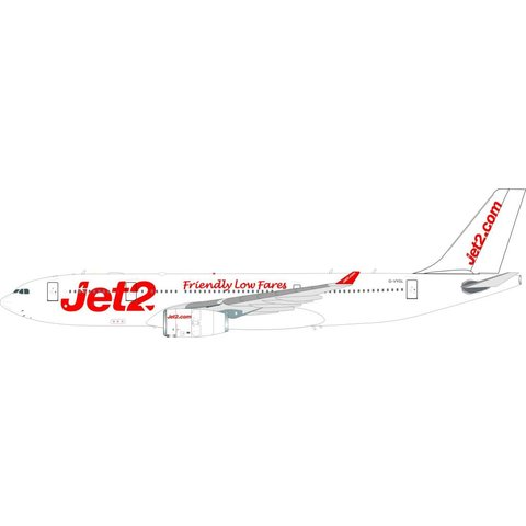 A330-200 Jet2 G-VYGL 1:200 with stand