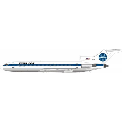 B727-200 Pan Am Clipper Invincible N4745 1:200 with stand polished