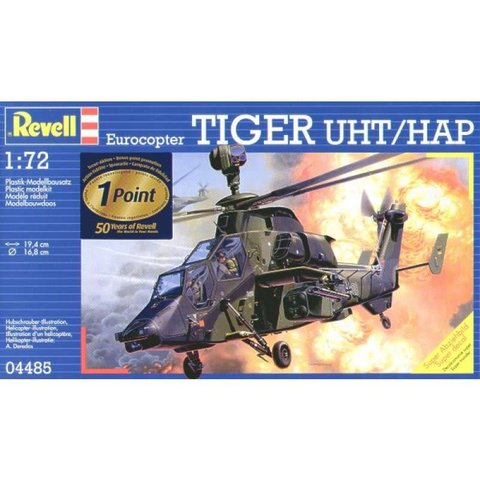 """REVELL GERMANY EUROCOPTER """"TIGER"""" UHT 1:72"""